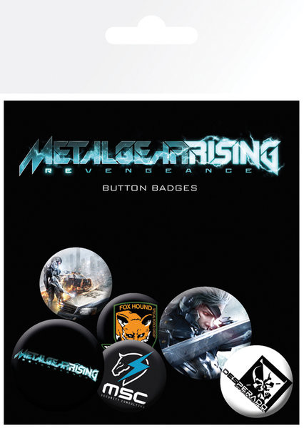 Badges METAL GEAR RISING