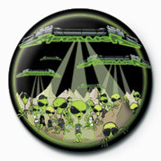 METALLICA - ALIENS Badge