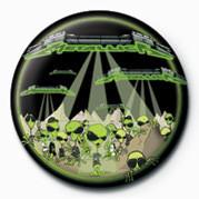 METALLICA - ALIENS Badges