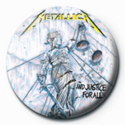 METALLICA - justice for all GB Badge