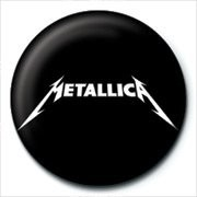 METALLICA - logo Badges