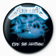 METALLICA - RIDE THE LIGHT Badges