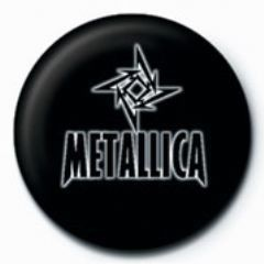 METALLICA - small star GB Badge