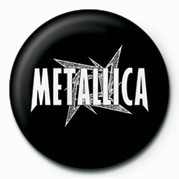 METALLICA - WHITE STAR Badges
