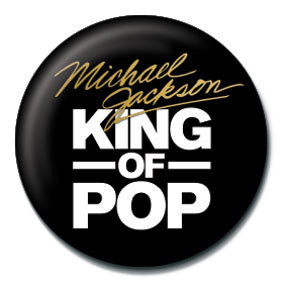MICHAEL JACKSON - king of the pop Badges