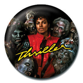 MICHAEL JACKSON - thriller Badges