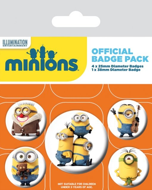 Minions - Characters Badge Pack