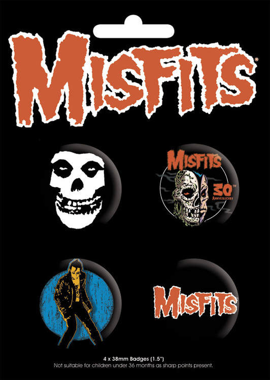 MISFITS Badge Pack