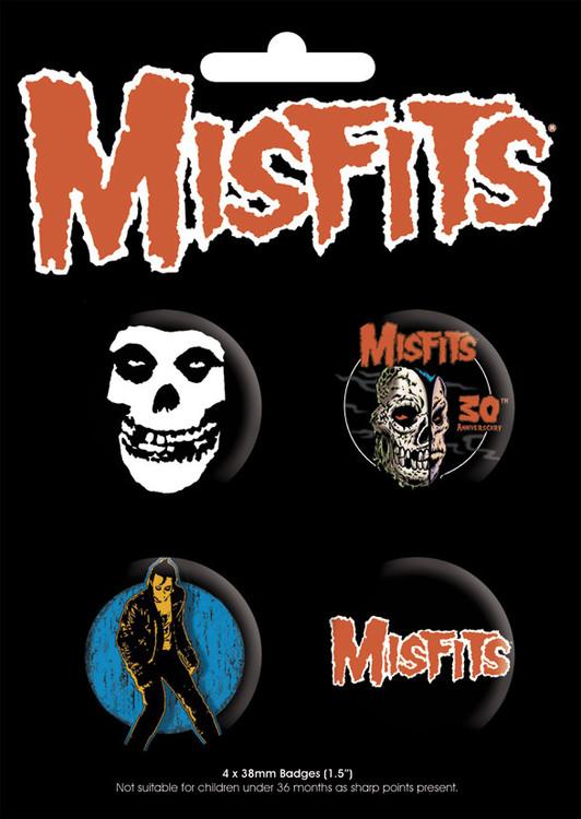 Badges MISFITS