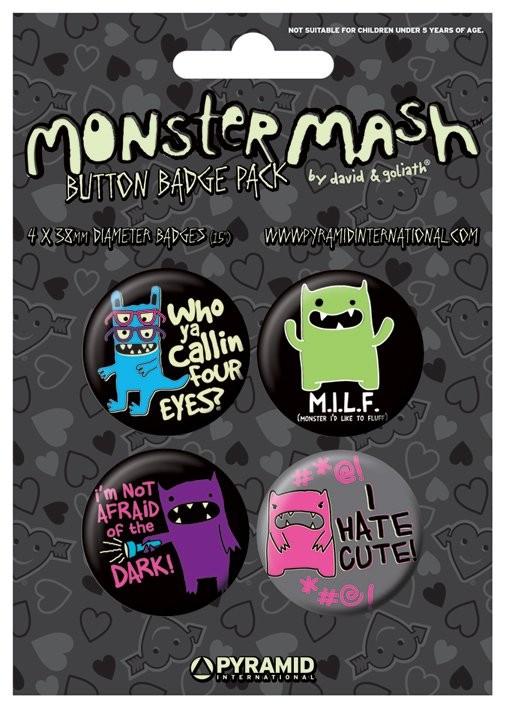 MONSTER MASH - i hate cute Badge Pack