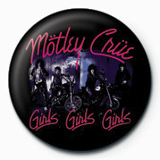 MOTLEY CRUE - GIRLS Badges