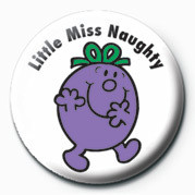 MR MEN (Little Miss Naught Badge