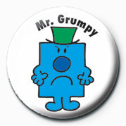 MR MEN (Mr Grumpy) Badges