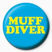 MUFF DIVER Badge