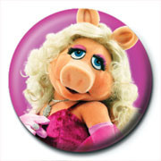 MUPPETS - miss piggy Badge