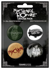MY CHEMICAL ROMANCE Badge Pack