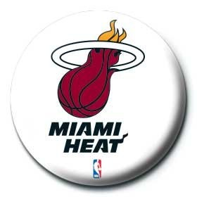 NBA - miami heat logo Badge