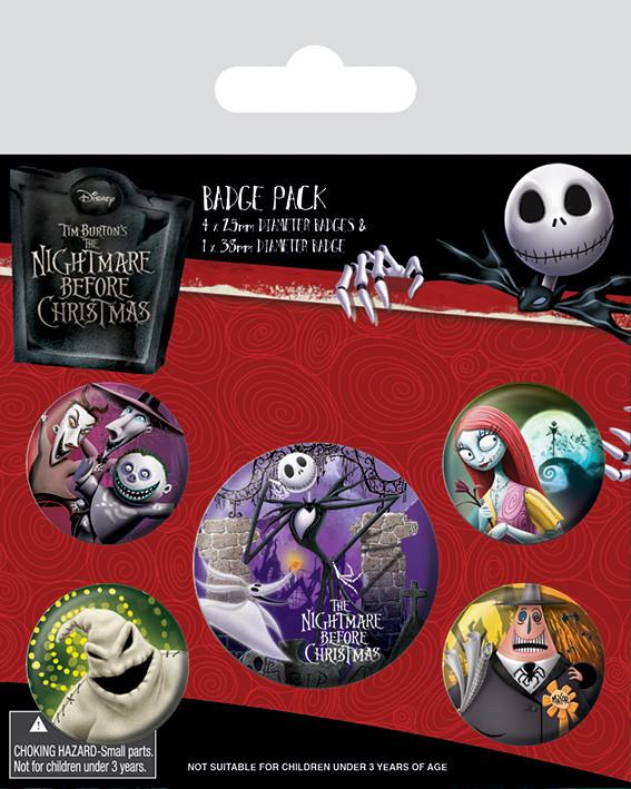 Nightmare Before Christmas - Characters Badge Pack
