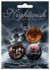 NIGHTWISH - Dpp Badge Pack