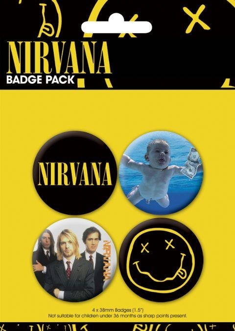 Badges NIRVANA