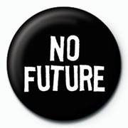 NO FUTURE Badge