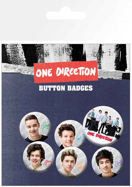 One Direction - Band Badge Pack