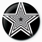 OP ART STARS Badge