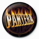 PANTERA - flaming Badges