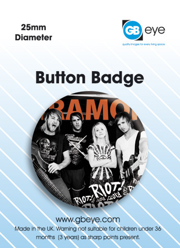 Paramore Band Badges