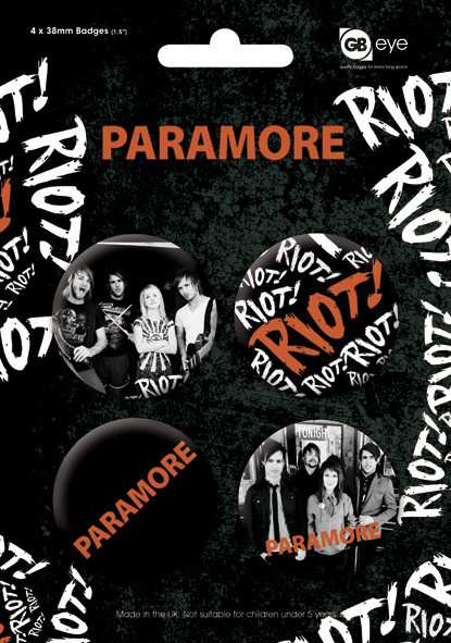 PARAMORE Badge Pack