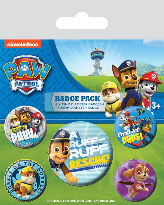 Paw Patrol Badge Pack