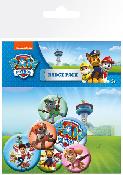 Badge set Paw Patrol - Mix