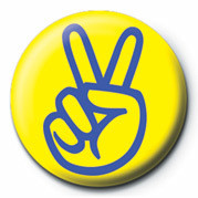 PEACE MAN Badge
