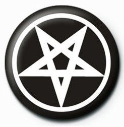 PENTAGRAM - bw Badges