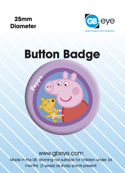 PEPPA PIG PEPPA Badge