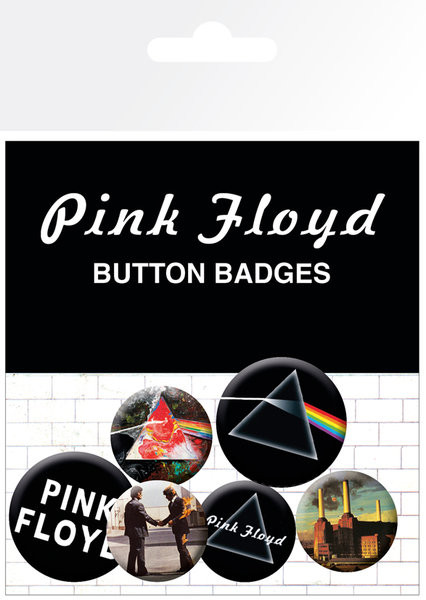 Pink Floyd - Album and Logos Badge Pack