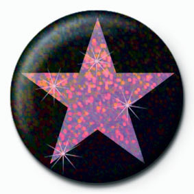 PINK STAR Badge