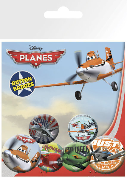 Badge set PLANES
