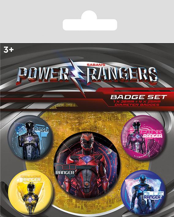 Power Rangers - Rangers Badge Pack