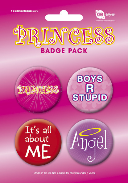 Badges PRINCESS