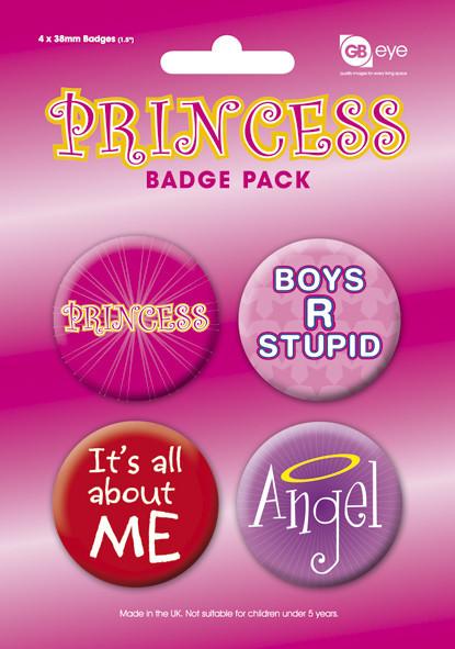 PRINCESS Badge Pack