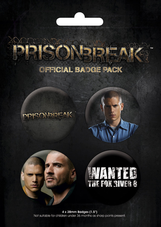 Badges PRISON BREAK