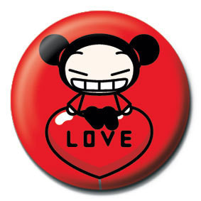 PUCCA - balloon Badges