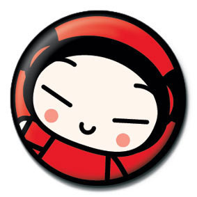 PUCCA - face Badge