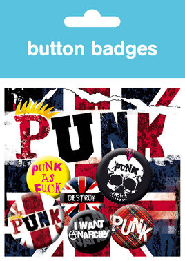 PUNK Badge Pack