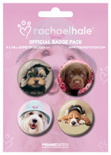 RACHAEL HALE - dogs Badge Pack