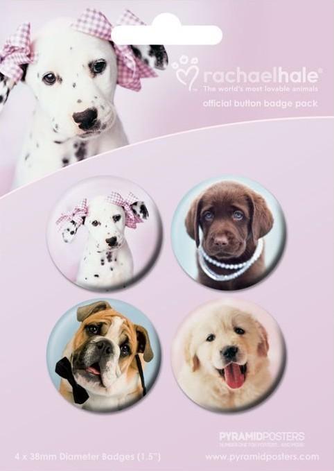 RACHAEL HALE - perros 2 Badges