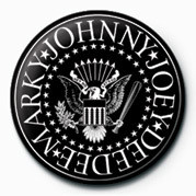 Ramones (B&W Logo) Badges