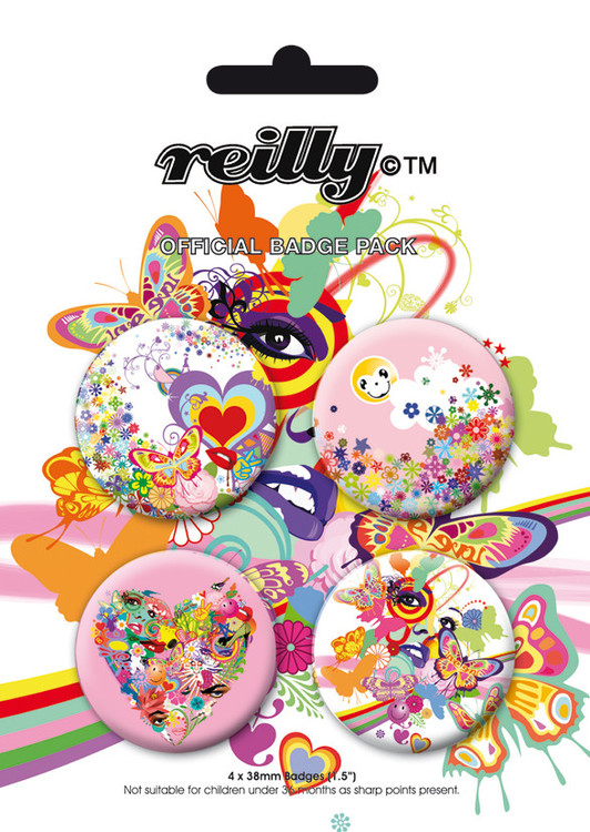 REILLY Badges