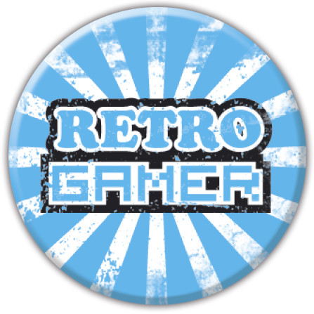 RETRO GAMER Badge